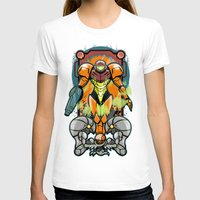 samus T-shirts featuring Samus by Brandon C. Bader