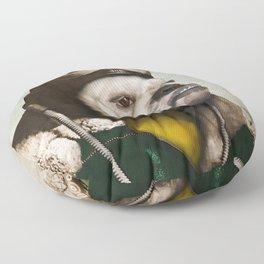 "Wing Commander, Benton ""Bulldog"" Bailey of the RAF Floor Pillow"