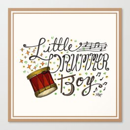 Little Drummer Boy Canvas Print