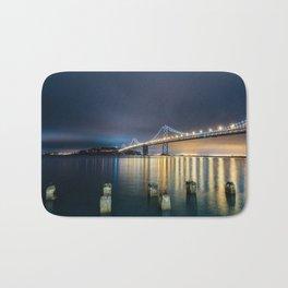 San Francisco Bay Bridge Bath Mat