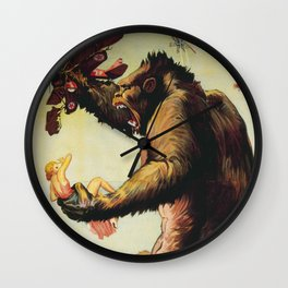 King Kong 1933 Wall Clock