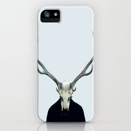 Living Skull and Horns iPhone Case
