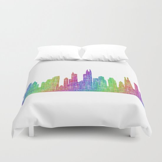 Chicago Duvet Cover