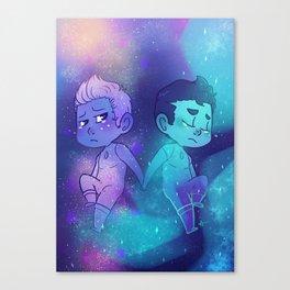 Milky Way & Aurora Canvas Print
