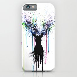 Colorful deer iPhone Case