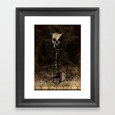Rigor Coagula Framed Art Print