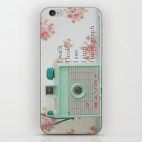 photographer iPhone & iPod Skins featuring Photographer by Butterfly Photography