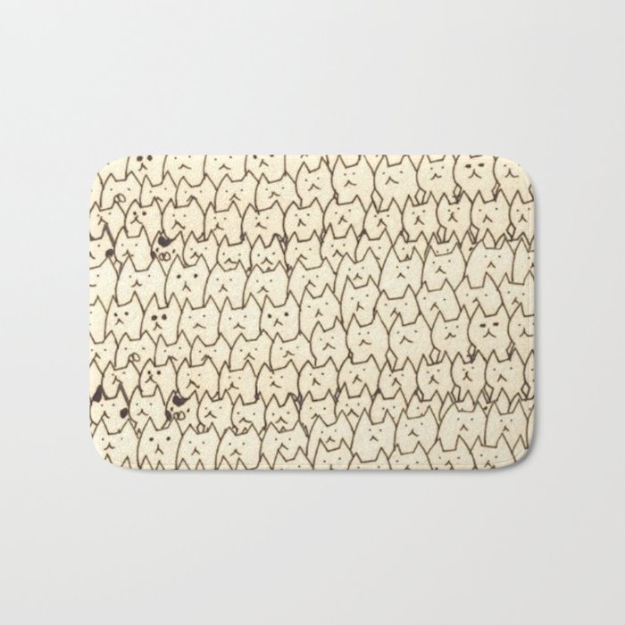 cats-5 Bath Mat