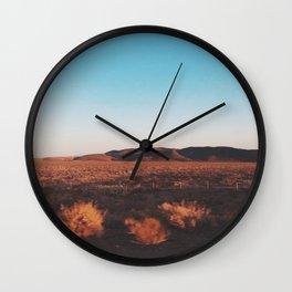Desert Tranquility Wall Clock