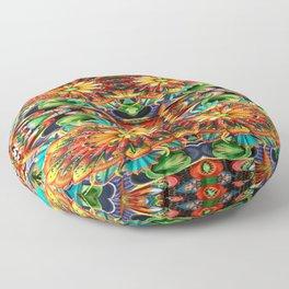 Kaleidoscope-14 Floor Pillow