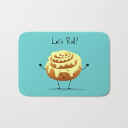 Let's Roll! Bath Mat
