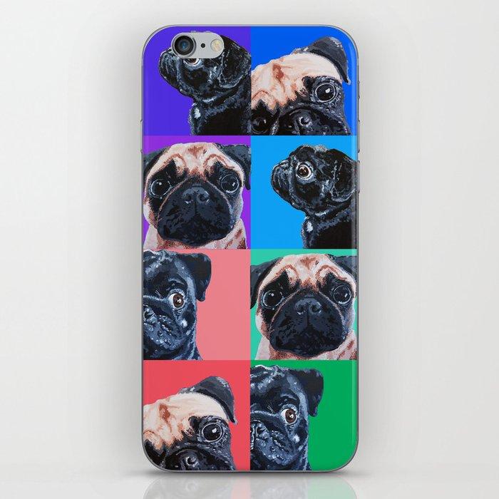 Pug Crazed iPhone Skin