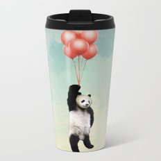 Pandalloons *** Metal Travel Mug