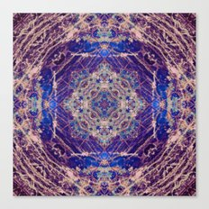 Labradorite Mandala Canvas Print