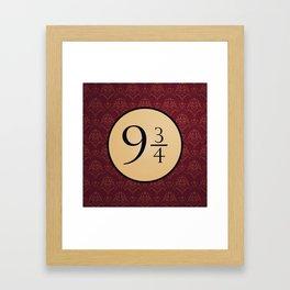 9 3/4 Framed Art Print