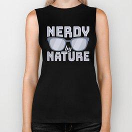Nerdy by Nature Nerdy Glasses Biker Tank