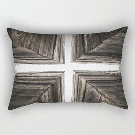 Between the Crates Rectangular Pillow