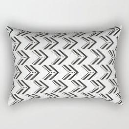 Black Arrow Tribal Canvas #society6 #decor #buyart #artprint Rectangular Pillow
