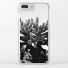 Cholla Cactus Garden XI Clear iPhone Case