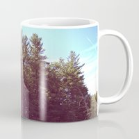 manchester Mugs featuring Manchester Swamps by katarjana
