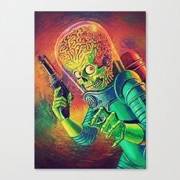 The Martian Canvas Print