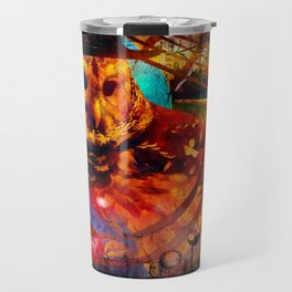 bohemian owl Travel Mug