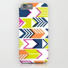 Tribal Arrows (Blue, Orange & Pink) iPhone 6s Slim Case