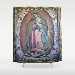 La Virgensita Shower Curtain