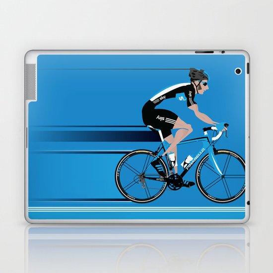Bradley Wiggins Team Sky Laptop & iPad Skin