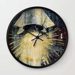 American Rocket Society Apollo Space Program Painting Motif No. 3 Wall Clock