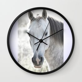 white beauty Wall Clock