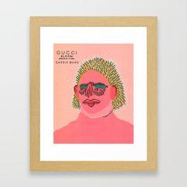 Cassis Buds Framed Art Print
