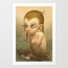 Petite faune Art Print