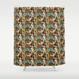 Mustelids are the best antidepressants #8 Shower Curtain