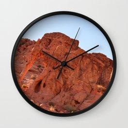 Elephant Rock, Valley of Fire - II Wall Clock