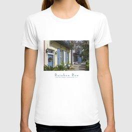 Charleston SC No.3 House on Rainbow Row T-shirt