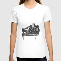 sneakers T-shirts featuring sneakers by Cardula