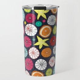 umbrellas cobalt Travel Mug