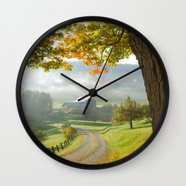COUNTRY ROAD1 Wall Clock