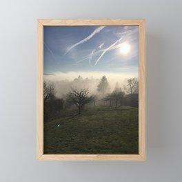 Fog Framed Mini Art Print