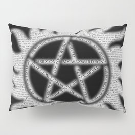 Carry On Supernatural Pentacle Pillow Sham