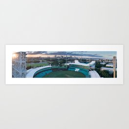 Sydney Cricket Ground Aerial View Art Print