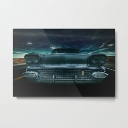 1958 Pontiac star chief catalina Metal Print