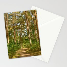 Forest path 41 Stationery Cards