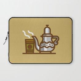 Arabic Tea time Laptop Sleeve