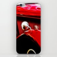 ford iPhone & iPod Skins featuring Ford V8 by Shalisa Photography