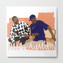 Craig & Smokey Metal Print
