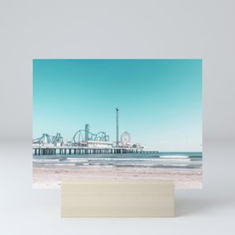 Travel Series - Galveston, TX Mini Art Print