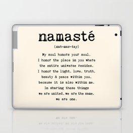 Namaste. Laptop & iPad Skin