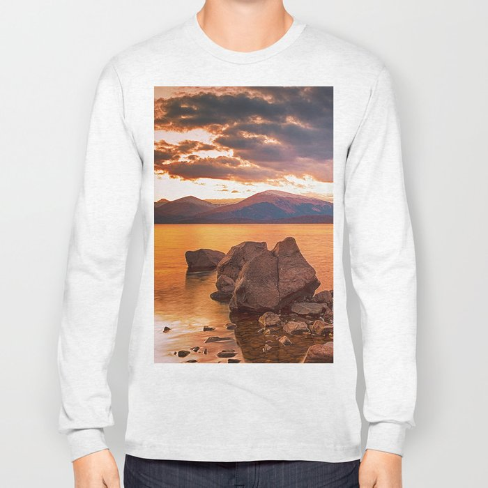 Liquid Gold Loch Lomond Long Sleeve T-shirt